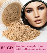 Beige: Medium complexions with yellow undertones.